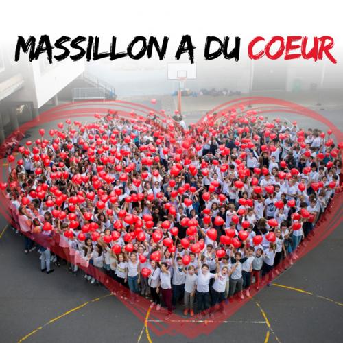 Le collège Massillon se mobilise pour sauver un enfant atteint de malformation cardiaque et devant être opéré . L'équipe de l'association Mécénat chirurgie cardiaque est venue les remercier